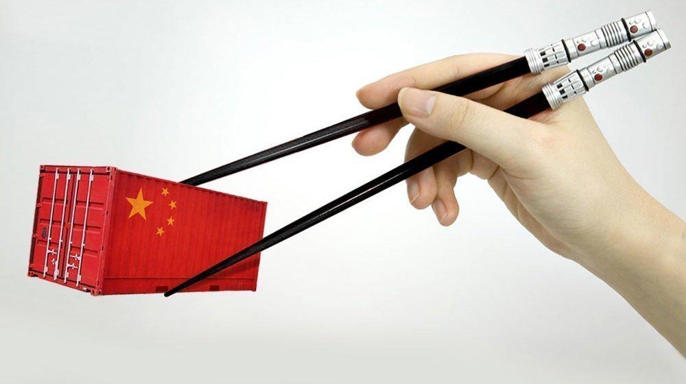 Доставка мелких грузов из Китая в Украину