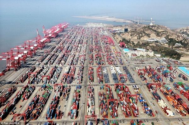 крупные порты Китая