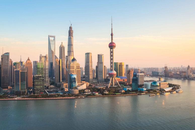 экономическая карта Китая
