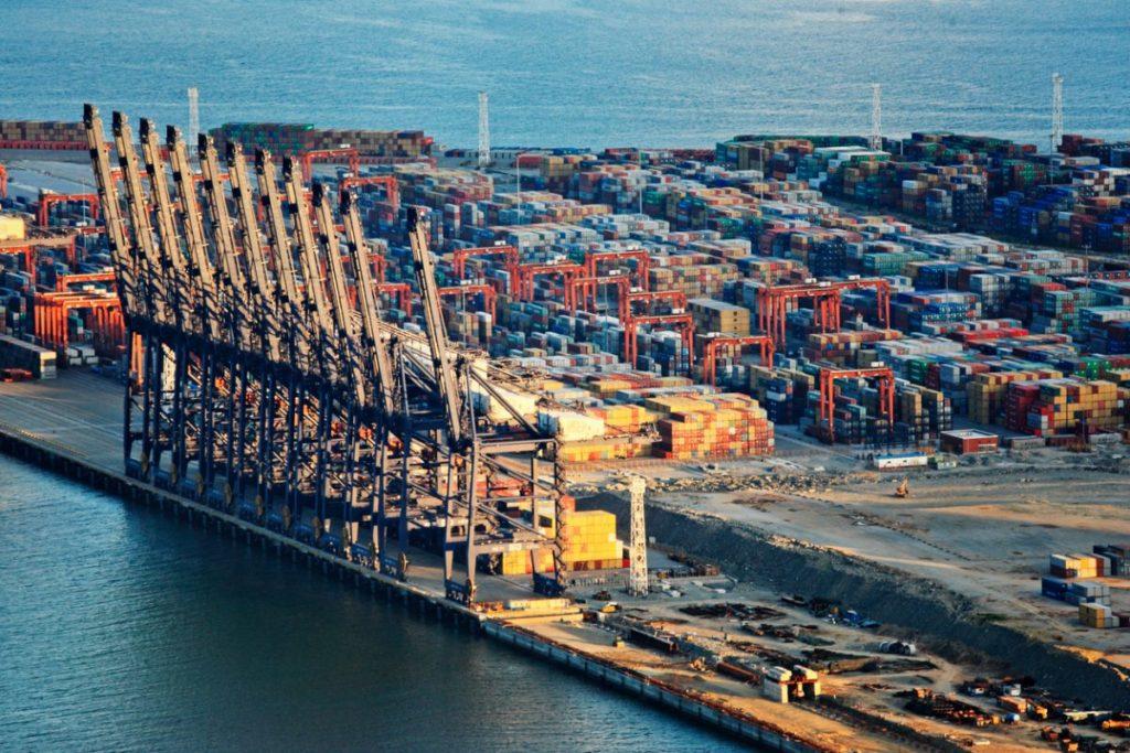 топ портов в Китае