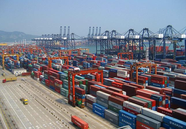 контейнерные порты Китая