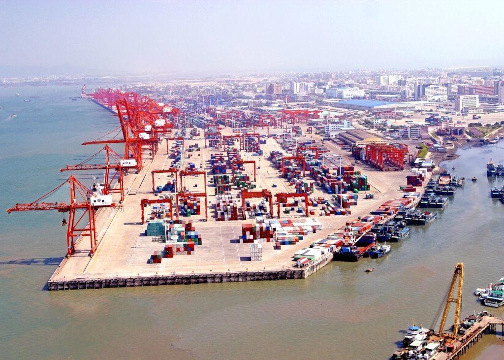 основные морские порты Китая