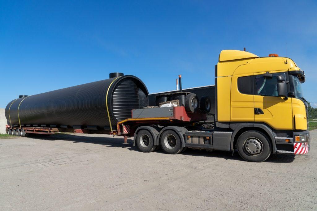 услуги перевозок крупногабаритных грузов